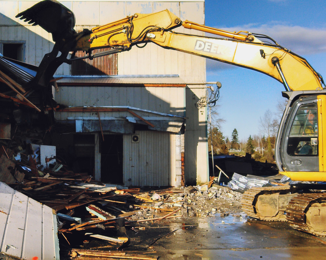 Commercial Demolition of Moose Lodge